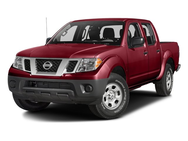 Cayenne Red 2018 Nissan Frontier Pictures Frontier Crew Cab 4x4 S Auto photos front view