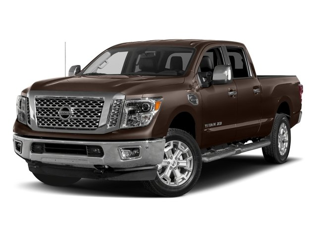 Java Metallic 2018 Nissan Titan XD Pictures Titan XD 4x2 Gas Crew Cab SL photos front view