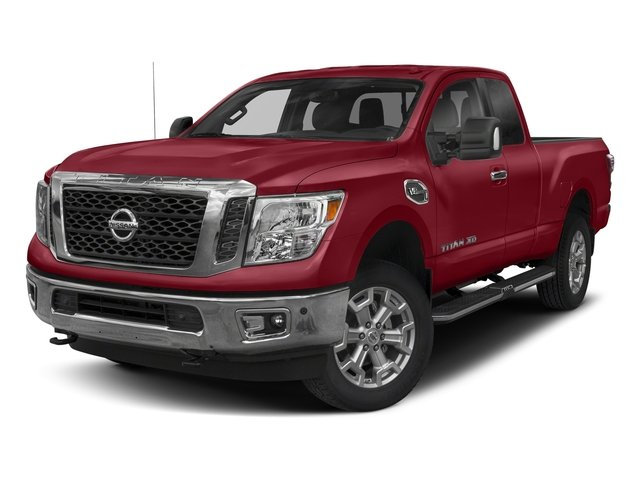 Cayenne Red 2018 Nissan Titan XD Pictures Titan XD 4x4 Diesel King Cab PRO-4X photos front view