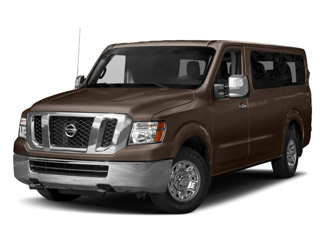 Java Metallic 2018 Nissan NV Passenger Pictures NV Passenger V6 HD SV photos front view