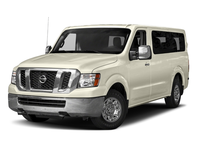 Pearl White 2018 Nissan NV Passenger Pictures NV Passenger V6 HD S photos front view