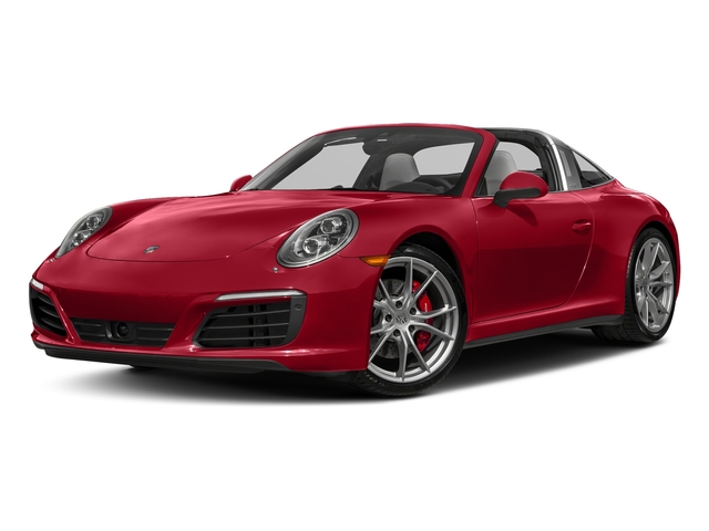 Carmine Red 2018 Porsche 911 Pictures 911 Targa 4 GTS photos front view
