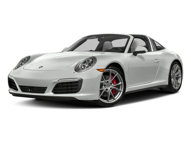 White 2018 Porsche 911 Pictures 911 Targa 4 GTS photos front view