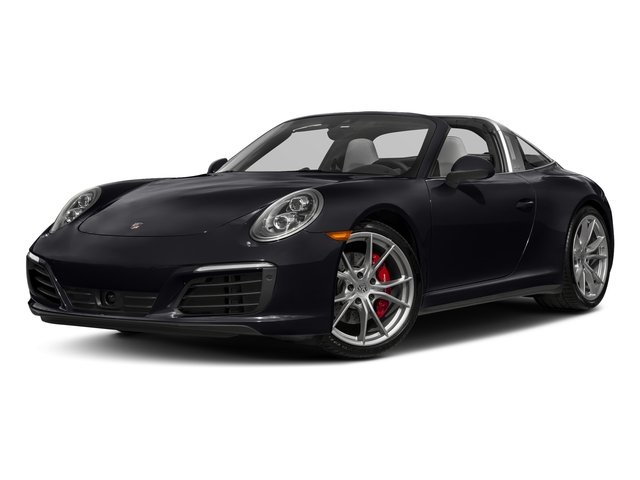 Jet Black Metallic 2018 Porsche 911 Pictures 911 Targa 4 GTS photos front view
