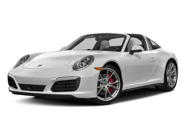 Carrara White Metallic 2018 Porsche 911 Pictures 911 Targa 4 GTS photos front view