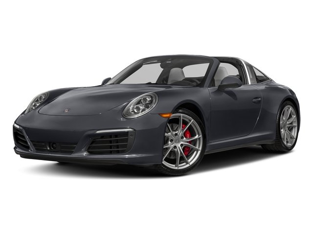 Graphite Blue Metallic 2018 Porsche 911 Pictures 911 Targa 4 GTS photos front view