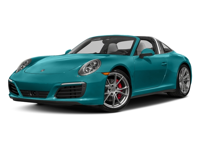 Miami Blue 2018 Porsche 911 Pictures 911 Targa 4 GTS photos front view
