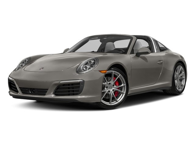 Agate Grey Metallic 2018 Porsche 911 Pictures 911 Targa 4 GTS photos front view