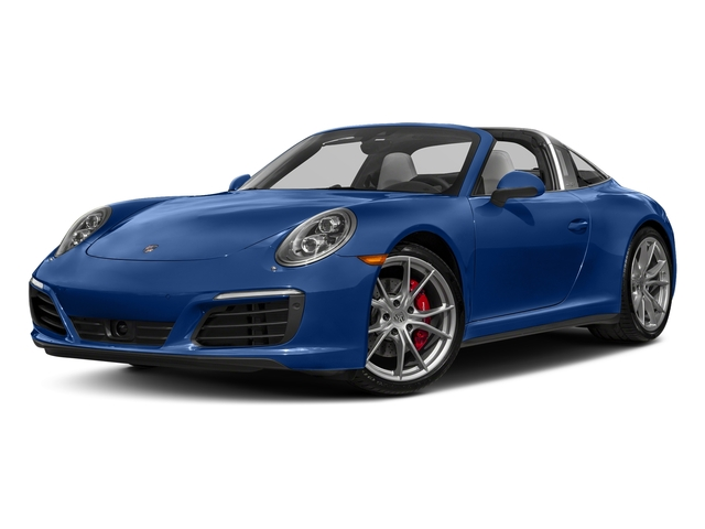 Sapphire Blue Metallic 2018 Porsche 911 Pictures 911 Targa 4 GTS photos front view