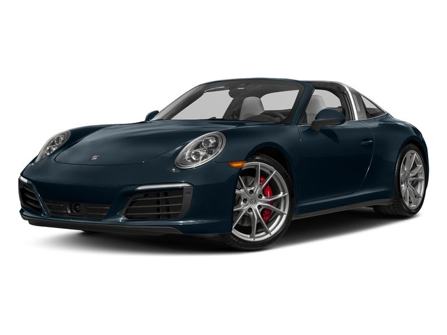 Night Blue Metallic 2018 Porsche 911 Pictures 911 Targa 4 GTS photos front view