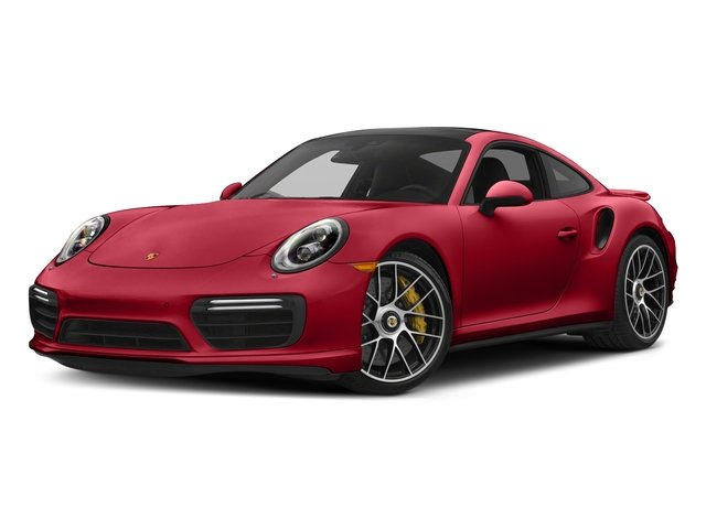Carmine Red 2018 Porsche 911 Pictures 911 Turbo S Coupe photos front view