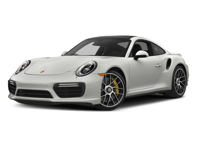 White 2018 Porsche 911 Pictures 911 Turbo S Coupe photos front view