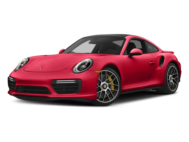 Guards Red 2018 Porsche 911 Pictures 911 Turbo S Coupe photos front view