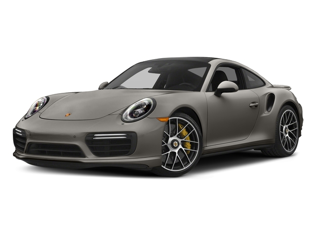 Agate Grey Metallic 2018 Porsche 911 Pictures 911 Turbo S Coupe photos front view