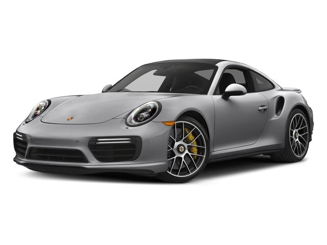 GT Silver Metallic 2018 Porsche 911 Pictures 911 Turbo S Coupe photos front view
