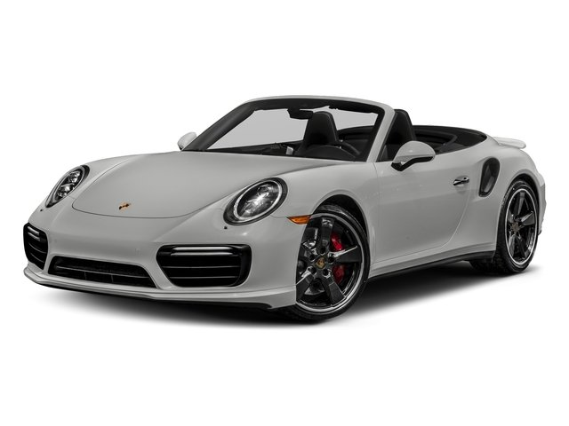 Chalk 2018 Porsche 911 Pictures 911 Turbo Cabriolet photos front view