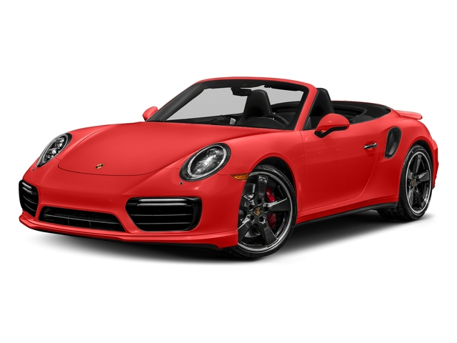Lava Orange 2018 Porsche 911 Pictures 911 Turbo Cabriolet photos front view
