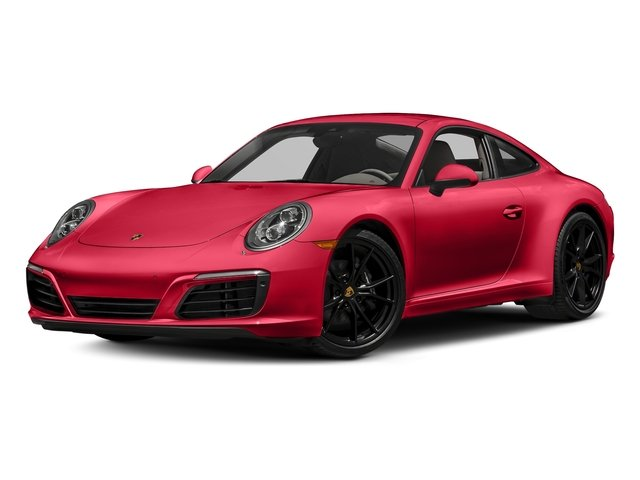 Guards Red 2018 Porsche 911 Pictures 911 Carrera Coupe photos front view