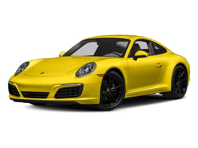 Racing Yellow 2018 Porsche 911 Pictures 911 Carrera Coupe photos front view