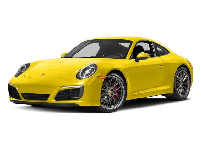 Racing Yellow 2018 Porsche 911 Pictures 911 Carrera S Coupe photos front view