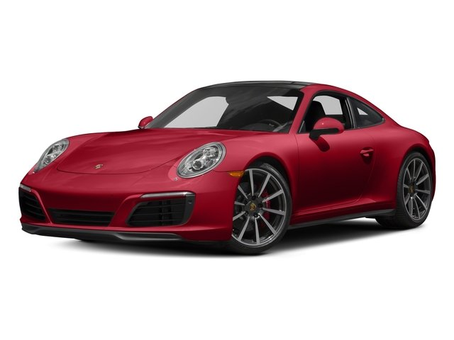 Carmine Red 2018 Porsche 911 Pictures 911 Carrera 4S Coupe photos front view