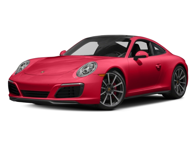 Guards Red 2018 Porsche 911 Pictures 911 Carrera 4S Coupe photos front view