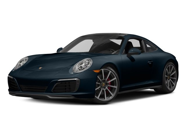Night Blue Metallic 2018 Porsche 911 Pictures 911 Carrera 4S Coupe photos front view
