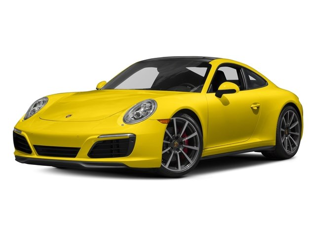 Racing Yellow 2018 Porsche 911 Pictures 911 Carrera 4S Coupe photos front view