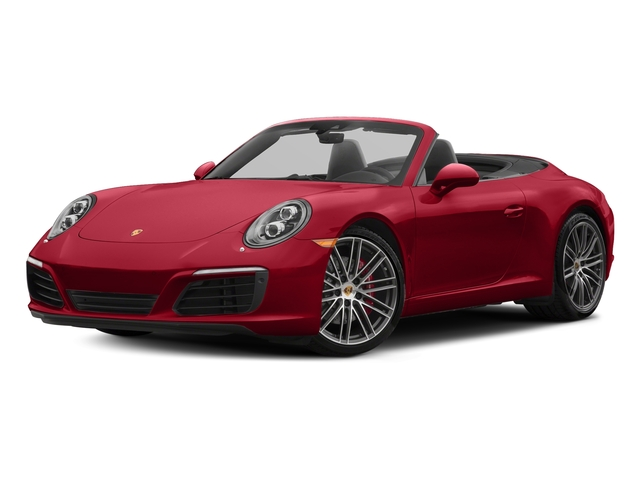 Carmine Red 2018 Porsche 911 Pictures 911 Carrera S Cabriolet photos front view