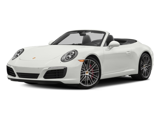 White 2018 Porsche 911 Pictures 911 Carrera S Cabriolet photos front view
