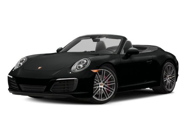 Jet Black Metallic 2018 Porsche 911 Pictures 911 Carrera S Cabriolet photos front view