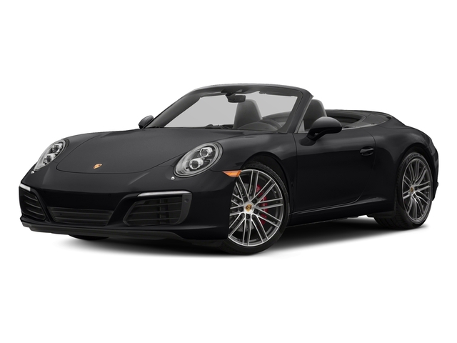 Black 2018 Porsche 911 Pictures 911 Carrera S Cabriolet photos front view