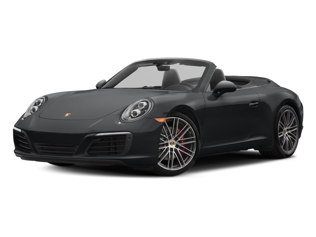 Graphite Blue Metallic 2018 Porsche 911 Pictures 911 Carrera S Cabriolet photos front view