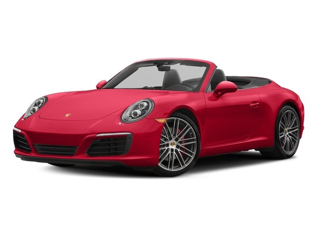Guards Red 2018 Porsche 911 Pictures 911 Carrera S Cabriolet photos front view