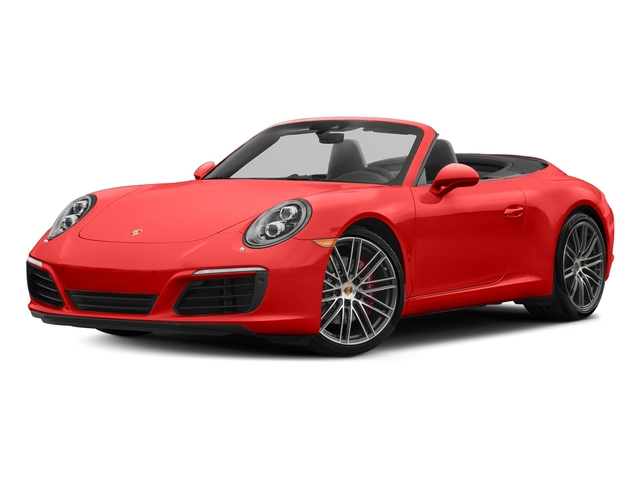 Lava Orange 2018 Porsche 911 Pictures 911 Carrera S Cabriolet photos front view