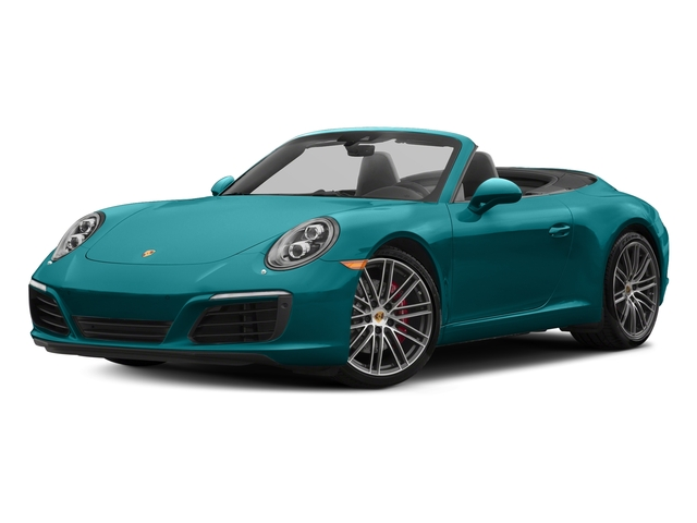 Miami Blue 2018 Porsche 911 Pictures 911 Carrera S Cabriolet photos front view
