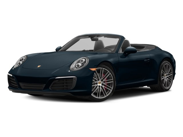 Night Blue Metallic 2018 Porsche 911 Pictures 911 Carrera S Cabriolet photos front view