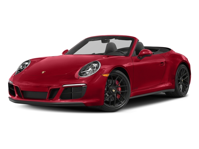 Carmine Red 2018 Porsche 911 Pictures 911 Carrera GTS Cabriolet photos front view