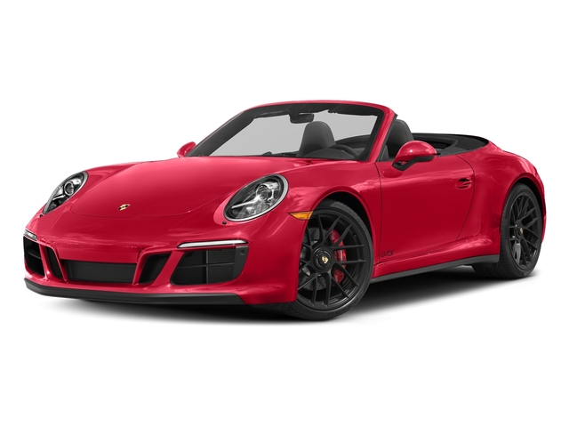 Guards Red 2018 Porsche 911 Pictures 911 Carrera GTS Cabriolet photos front view
