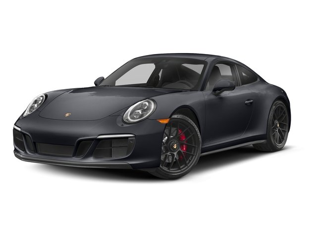 Graphite Blue Metallic 2018 Porsche 911 Pictures 911 Carrera 4 GTS Coupe photos front view