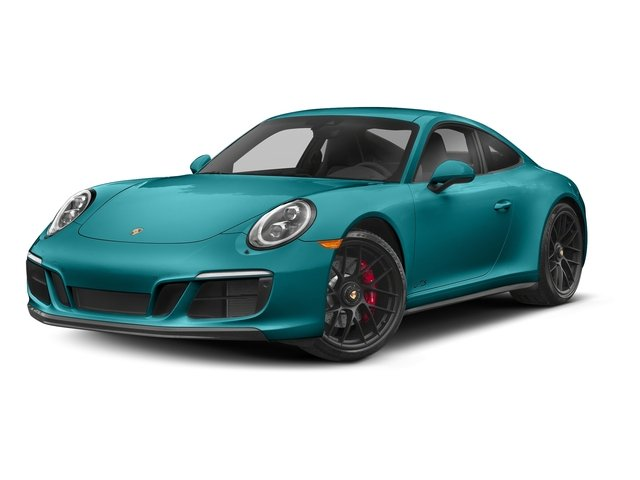 Miami Blue 2018 Porsche 911 Pictures 911 Carrera 4 GTS Coupe photos front view
