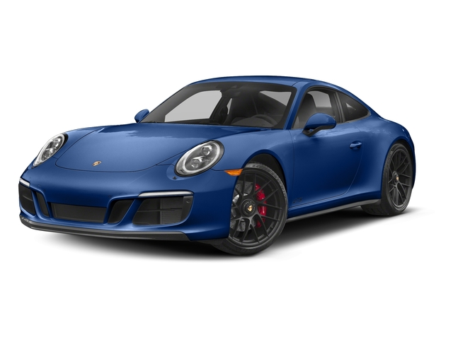 Sapphire Blue Metallic 2018 Porsche 911 Pictures 911 Carrera 4 GTS Coupe photos front view