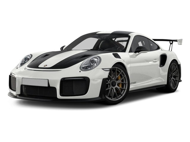 White 2018 Porsche 911 Pictures 911 GT2 RS Coupe photos front view