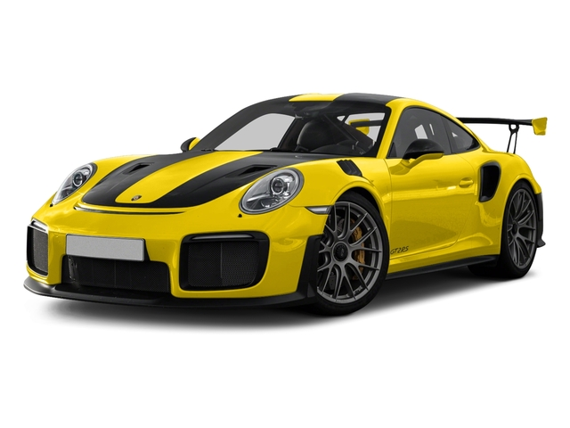 Racing Yellow 2018 Porsche 911 Pictures 911 GT2 RS Coupe photos front view