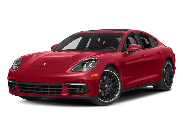 Carmine Red 2018 Porsche Panamera Pictures Panamera 4S Executive AWD photos front view