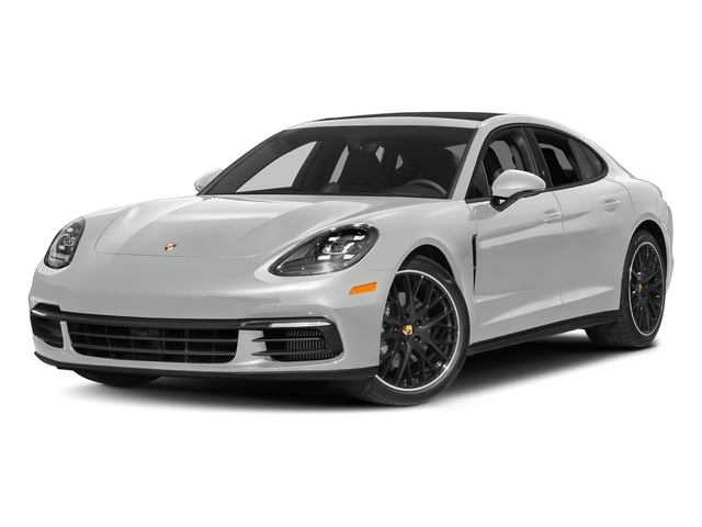 White 2018 Porsche Panamera Pictures Panamera 4S Executive AWD photos front view