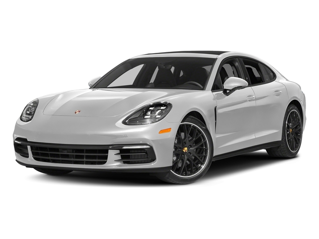Carrara White Metallic 2018 Porsche Panamera Pictures Panamera 4S Executive AWD photos front view