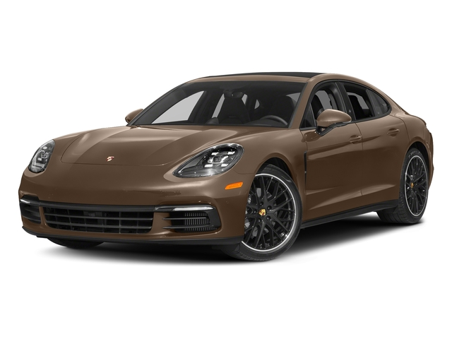 Ristretto Brown Metallic 2018 Porsche Panamera Pictures Panamera 4S Executive AWD photos front view