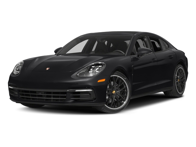Black 2018 Porsche Panamera Pictures Panamera 4S Executive AWD photos front view