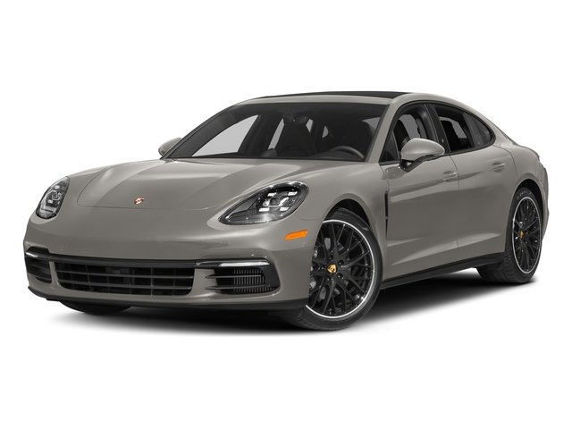 Agate Grey Metallic 2018 Porsche Panamera Pictures Panamera 4S Executive AWD photos front view